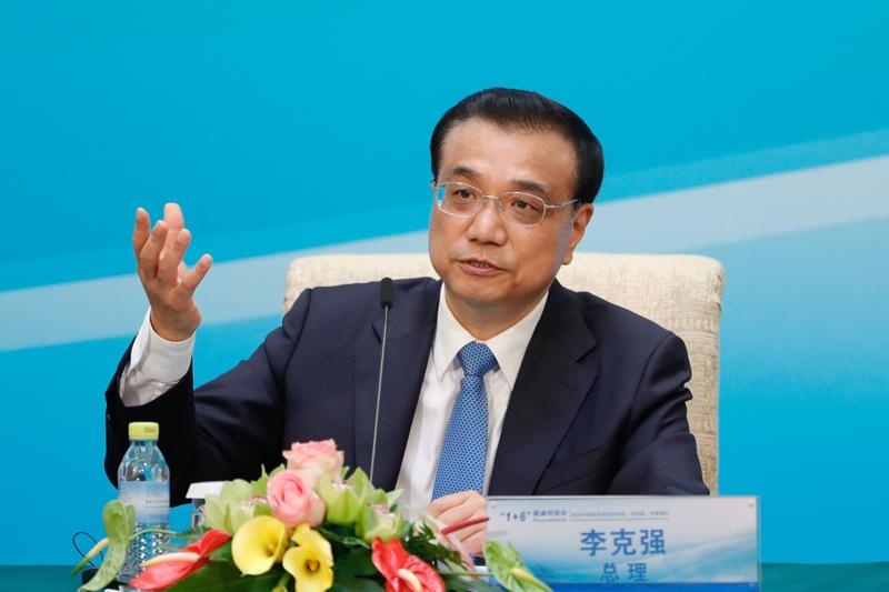 克强:促中国和全球经济共同强劲、可持续、平衡增长